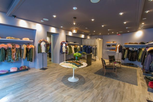 Inside the discreet Mr & Mrs Italy shop.