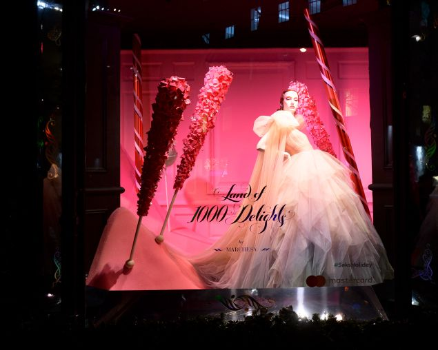 The Marchesa dedicated window.