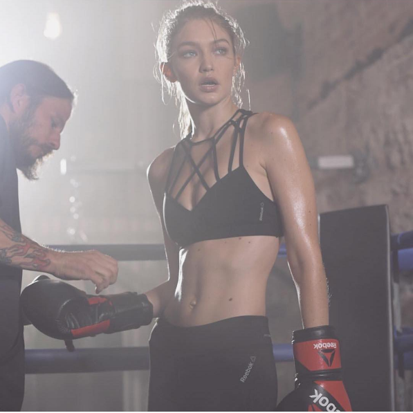 Gigi Hadid is a big fan of Gotham Gym in the West Village.