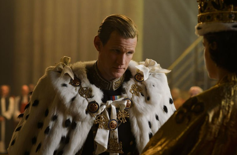 Matt Smith in The Crown.