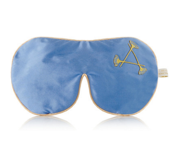 Put a few scented drops on this eye mask for some easy relaxation.