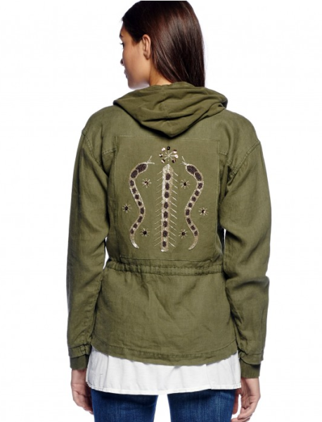 A jacket from the Michael Stars Artisans Collective.