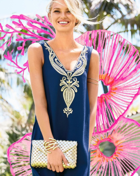 Lilly Pulitzer celebrates Colorful Friday.