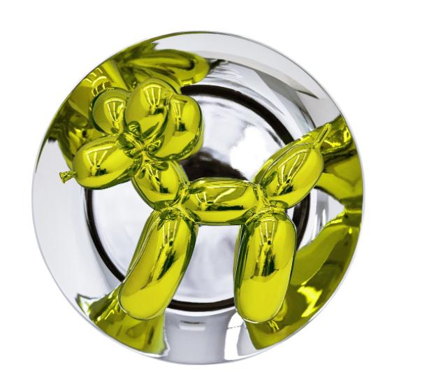Jeff Koons Balloon Dog (Yellow) by Bernardaud