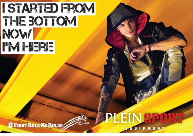 The new Plein Sport campaign captures its rebellious spirit.