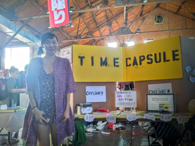 Internet Time Capsule, by Eli Yeung.