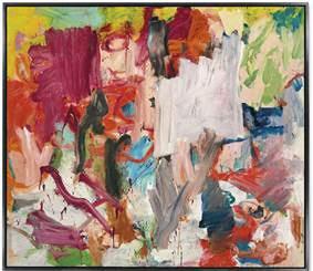 Willem de Kooning's Untitled XXV.