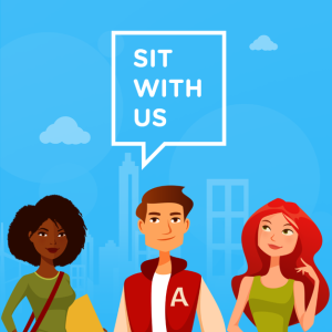 Sit With Us app.