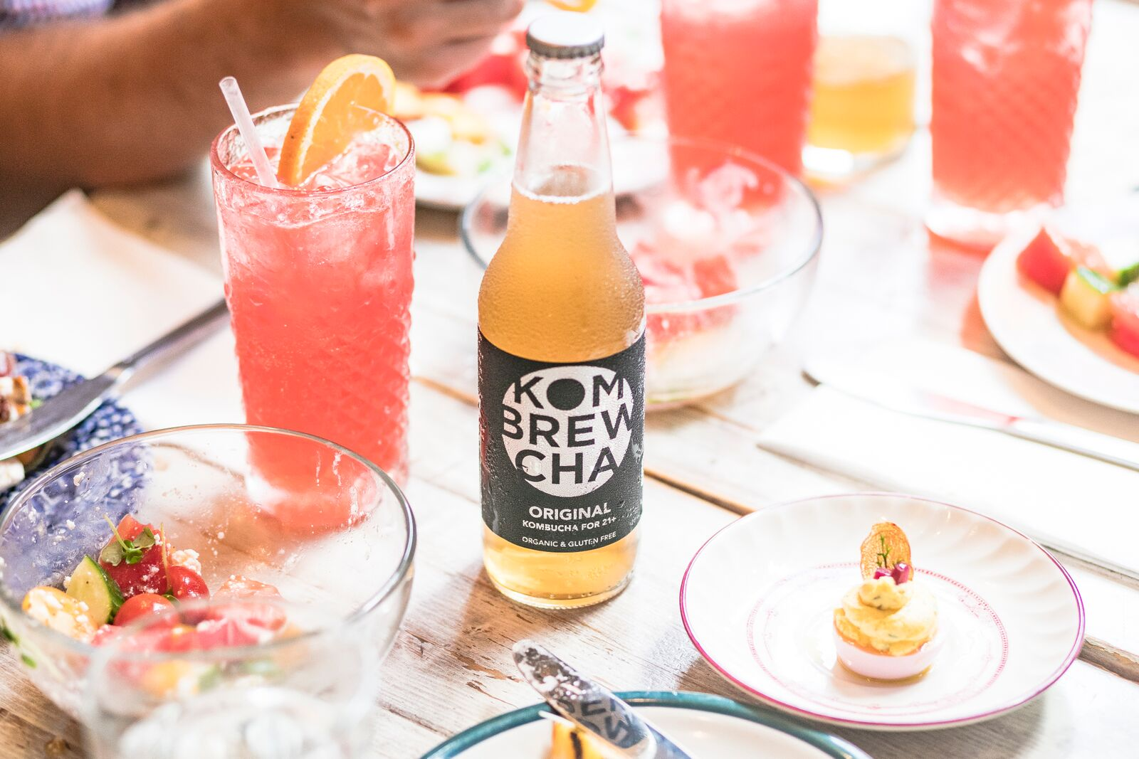 Kombrewcha over mimosas for brunch, anyone?