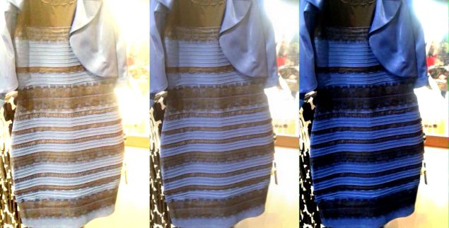 "Do you see the flip flops as the same colors as ""the dress""?"