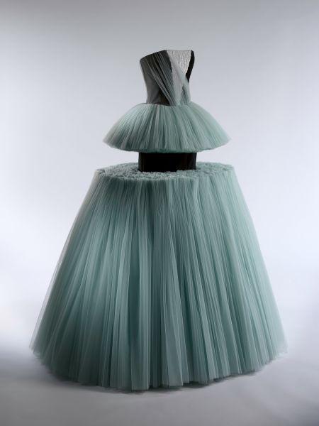 A Viktor & Rolf ball gown.