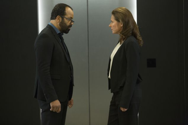 Jeffrey Wright and Sidse Babett Knudsen.