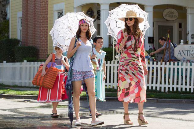 Alexis Bledel as Rory Gilmore and Lauren Graham as Lorelai Gilmore.