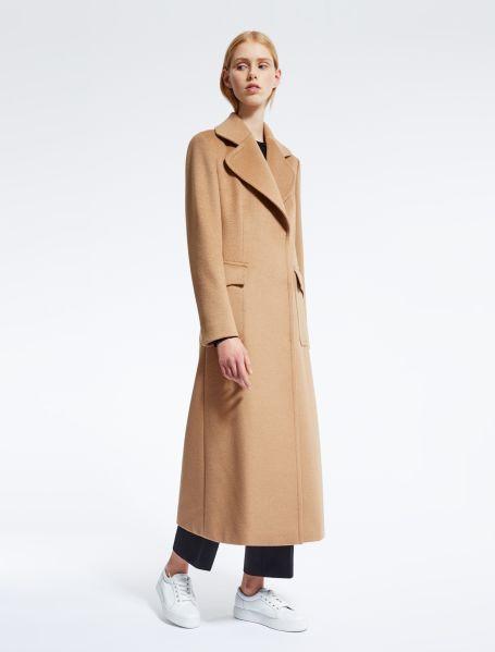 Max Mara Camel Hair Coat, $3,190, Maxmara.com.