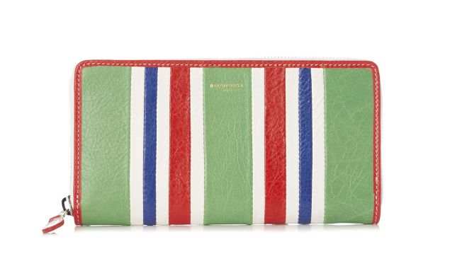 Balenciaga Bazar Zip-Around Leather Continental Wallet, $565, Matchesfashion.com.