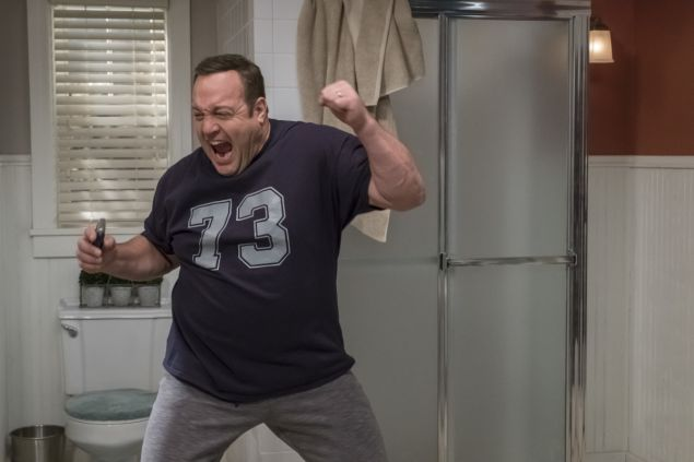 Kevin James in Kevin Can Wait.