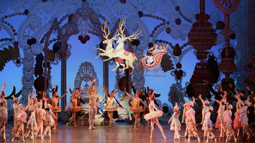 The New York City Ballet performs Balanchine's The Nutcracker.