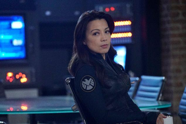 Ming-Na Wen as Melinda May.
