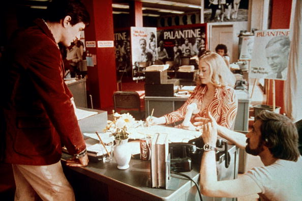 Martin Scorsese right) directsRobert De Niro and Cybill Shepard on the set of Taxi Driver.