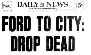 Ford To City Drop Dead