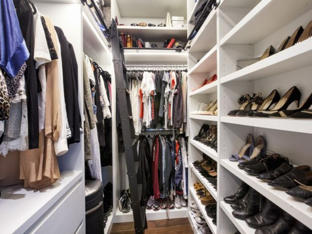 Seriously, this closet.