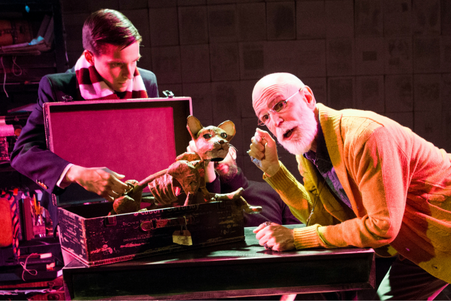 Phil Gillen and Andrew Dawson in Gorey: The Secrey Lives of Edward Gorey.