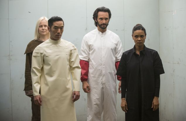 Ingrid Bolso Berdal as Armistice, Leonardo Nam as Felix Lutz, Rodrigo Santoro as Hector and Thandie Newton as Maeve.