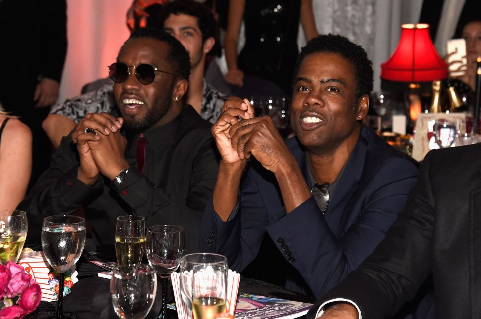 P. Diddy, Chris Rock