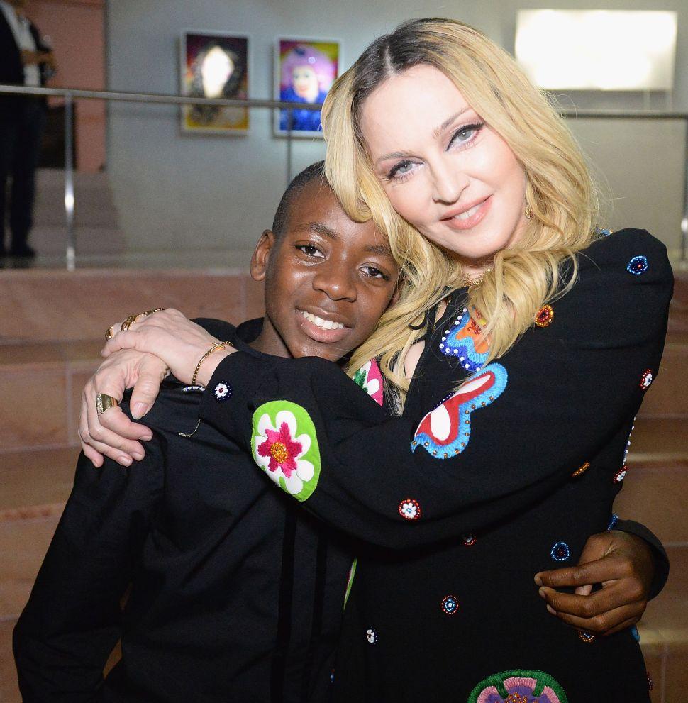 David Banda, Madonna