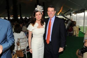 Bob Diamond and his wife Jennifer.