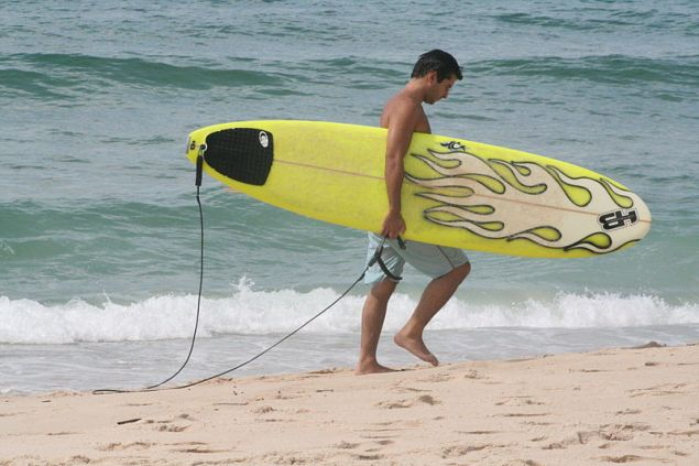 Surf lessons are not deductible.