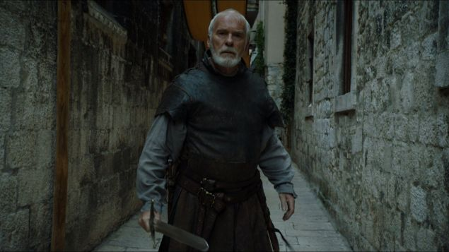 Ian McElhinney in Game of Thrones.