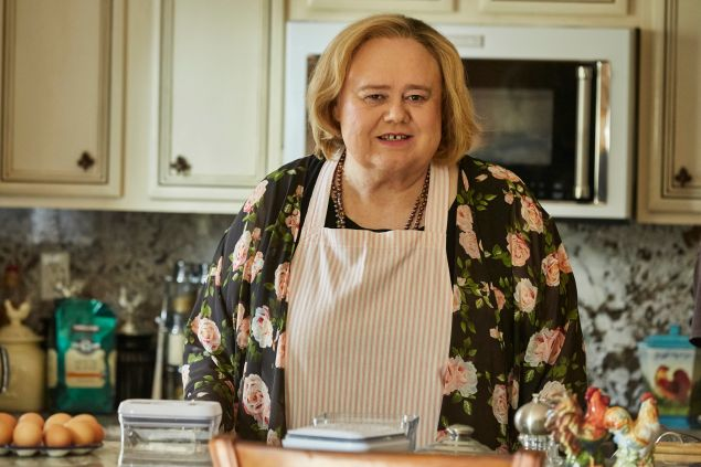 Louie Anderson as Christine Baskets.