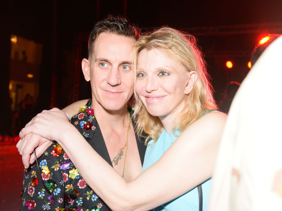Jeremy Scott, Courtney Love