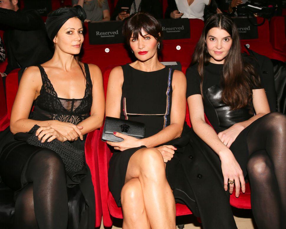 Camilla Staerk, Helena Christensen, Audrey Louise Reynolds.