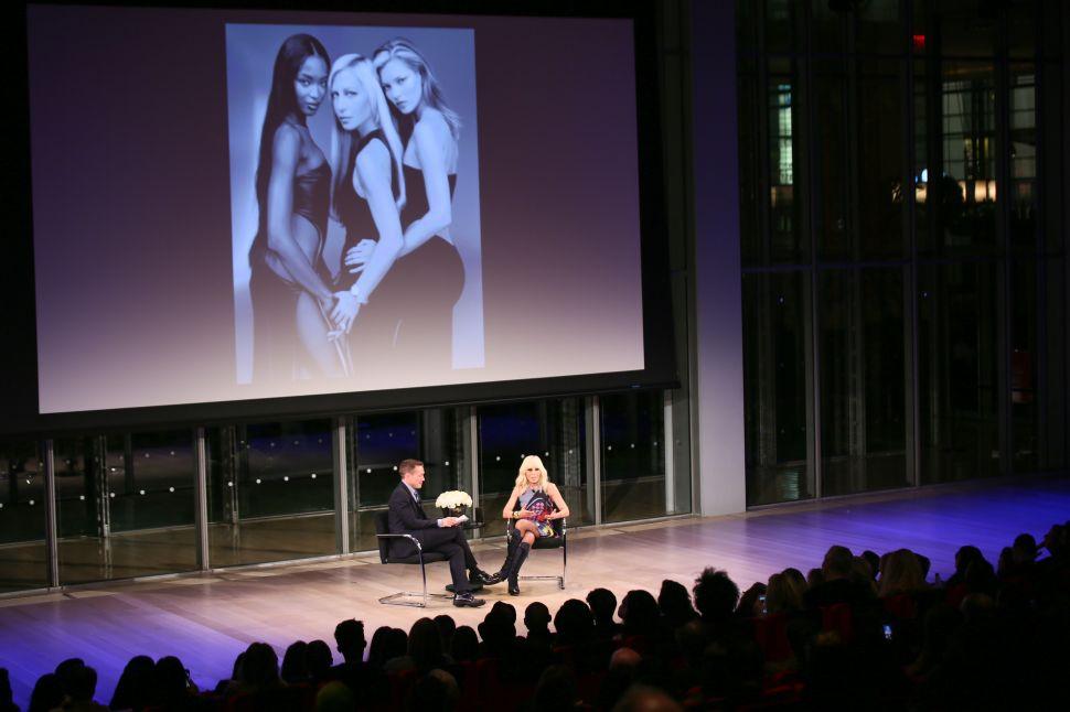 Eric Wilson, Donatella Versace.