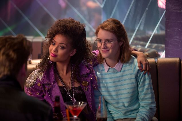 Gugu Mbatha-Raw and Mackenzie Davis in Black Mirror.