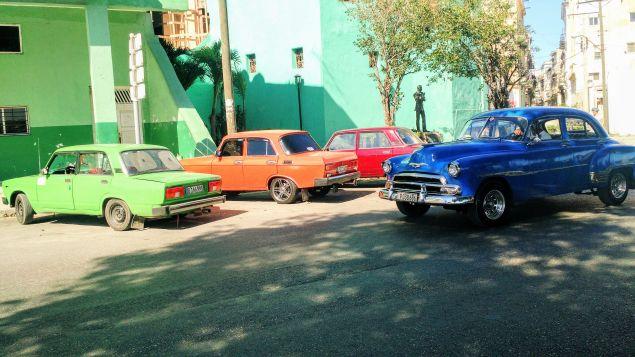 Near the waterfront in south Havana.