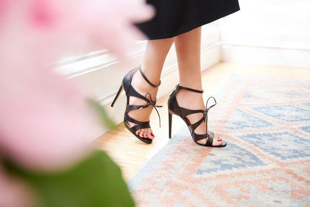 Bryonia Heels by Chloe Gosselin.
