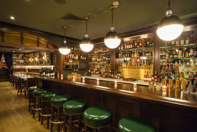 The revamped Chumley's bar