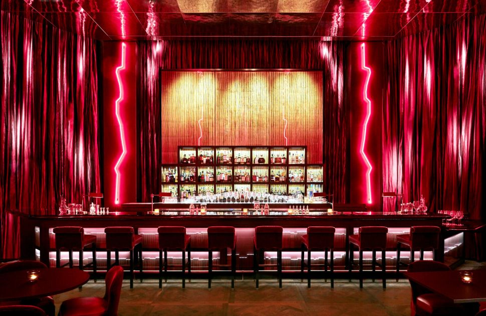 The bar at CUT New York