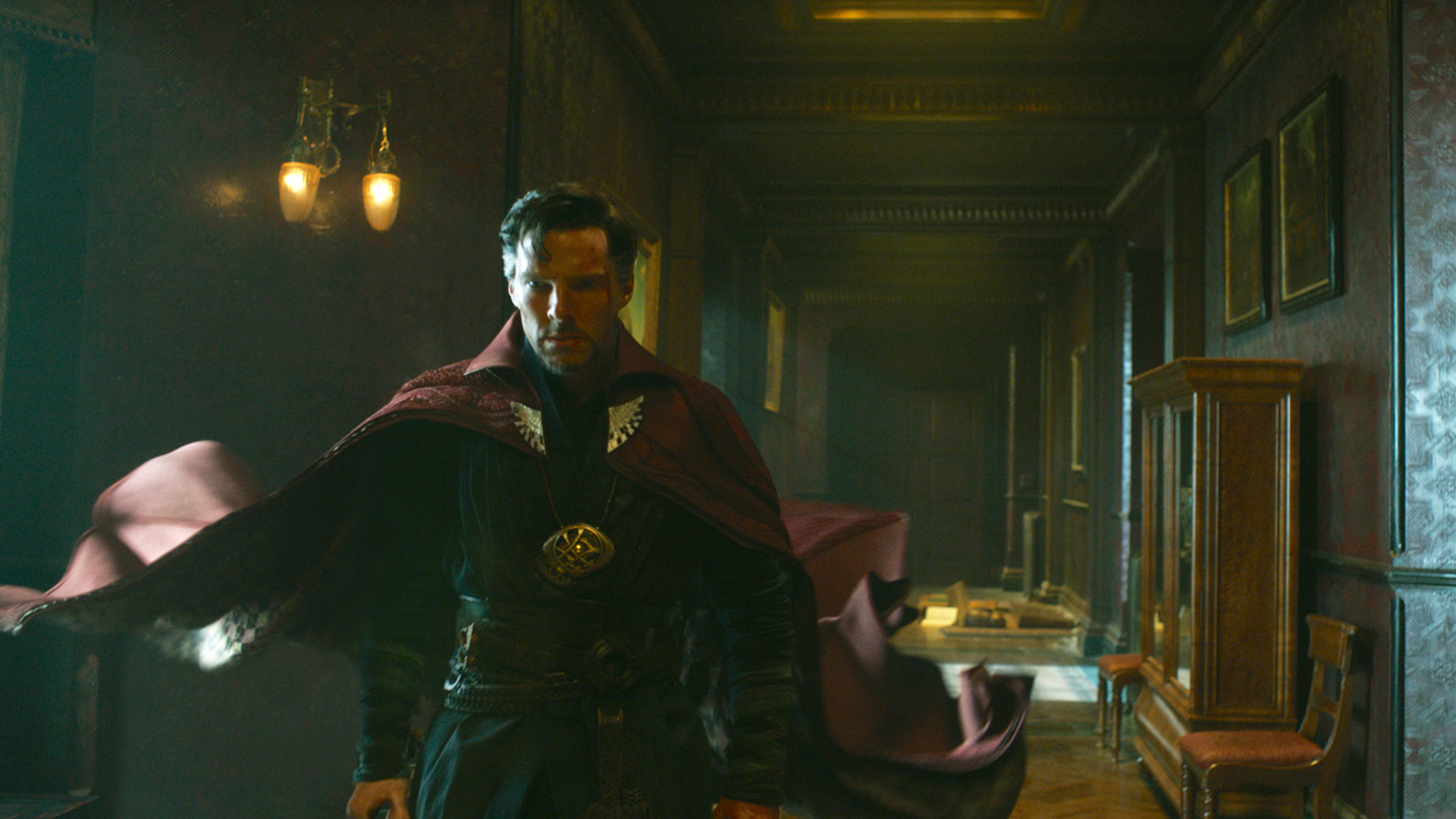 Benedict Cumberbatch in Doctor Strange.