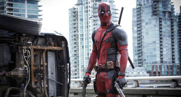 Ryan Reynold as Deadpool.