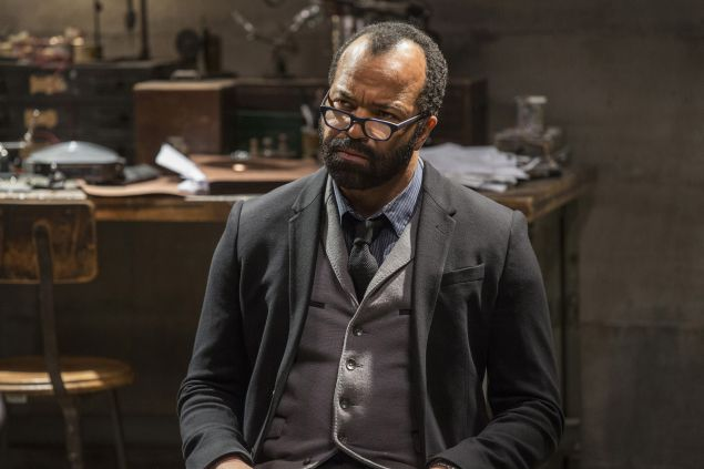 Jeffrey Wright as Bernard.