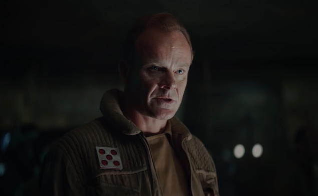 Alistair Petrie in Rogue One: A Star Wars Story.