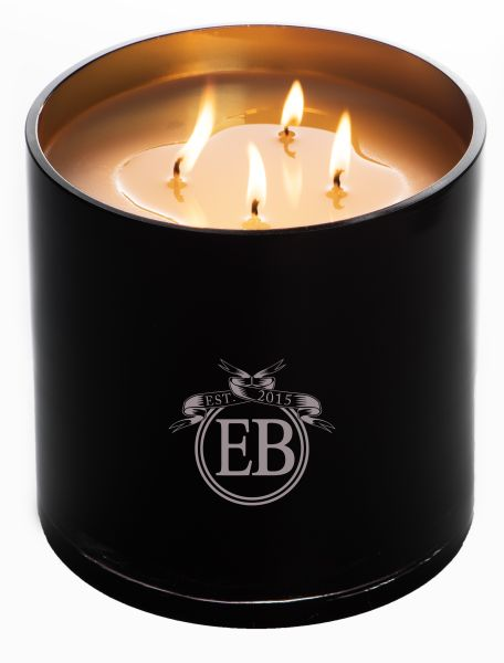 EB Florals new four-wick candle.