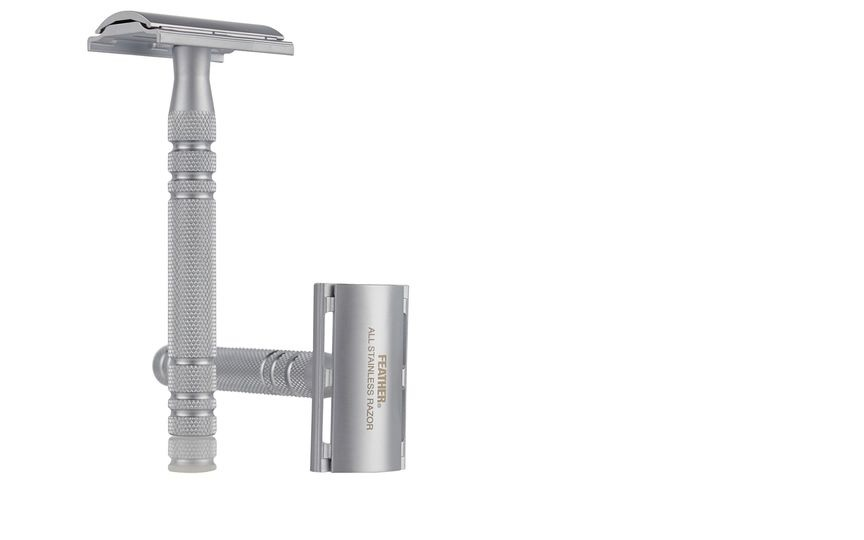 Double Edged Safety Razor by Jatai Feather for Sally Beauty