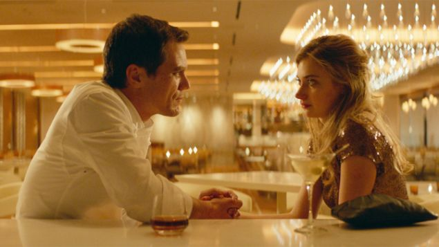 Michael Shannon as Frank and Imogen Poots as Lola.