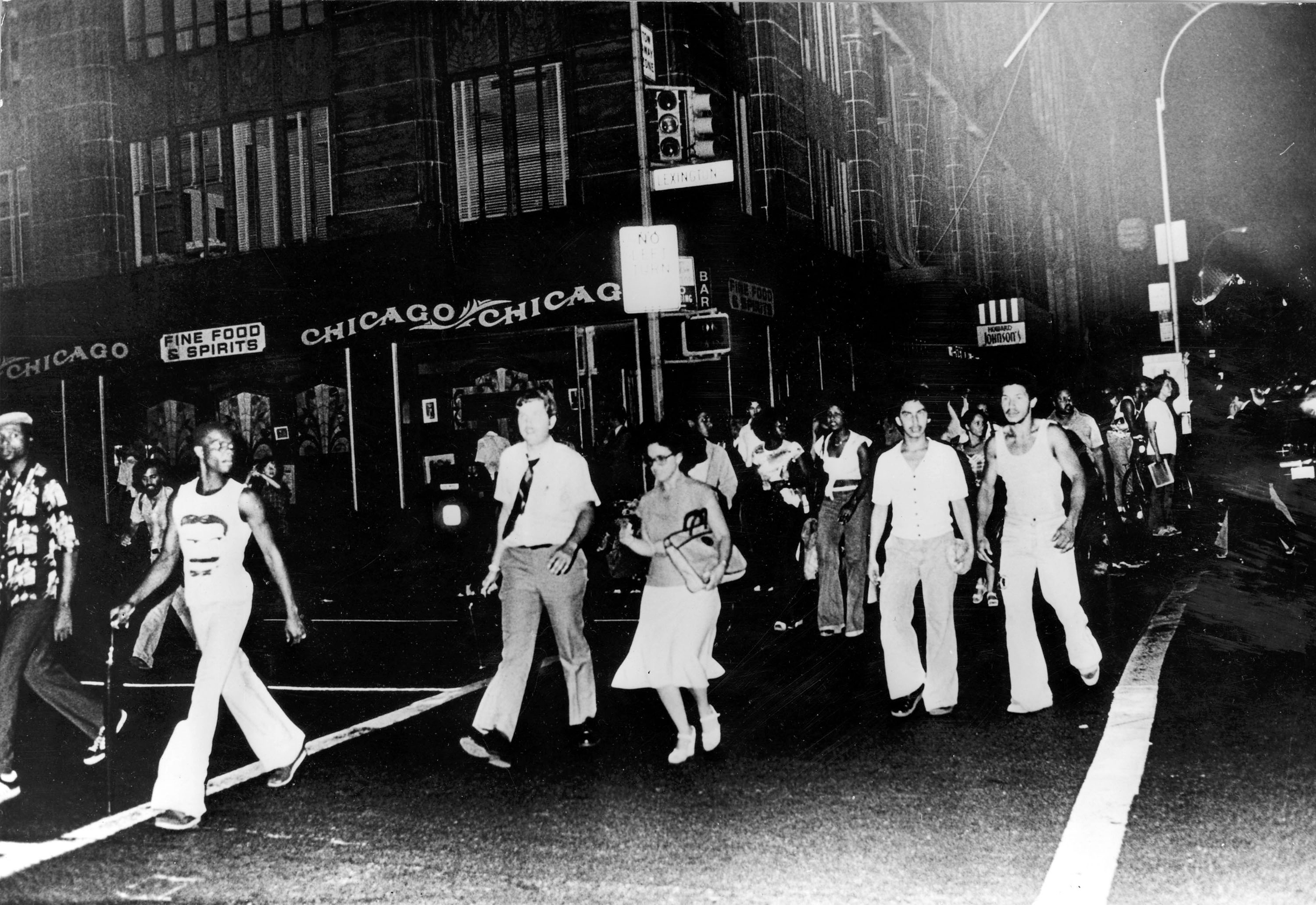 The blackout that year led to widespread arson, looting and riots across the city.