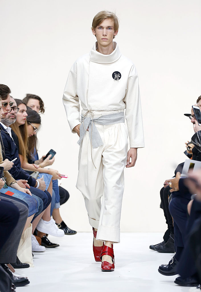 The J.W.Anderson show during The London Collections Men SS16.